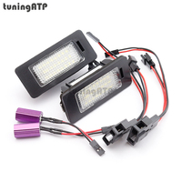 2x 24 SMD LED License Plate Light For Volkswagen VW Passat B6 Wagon Passat R36