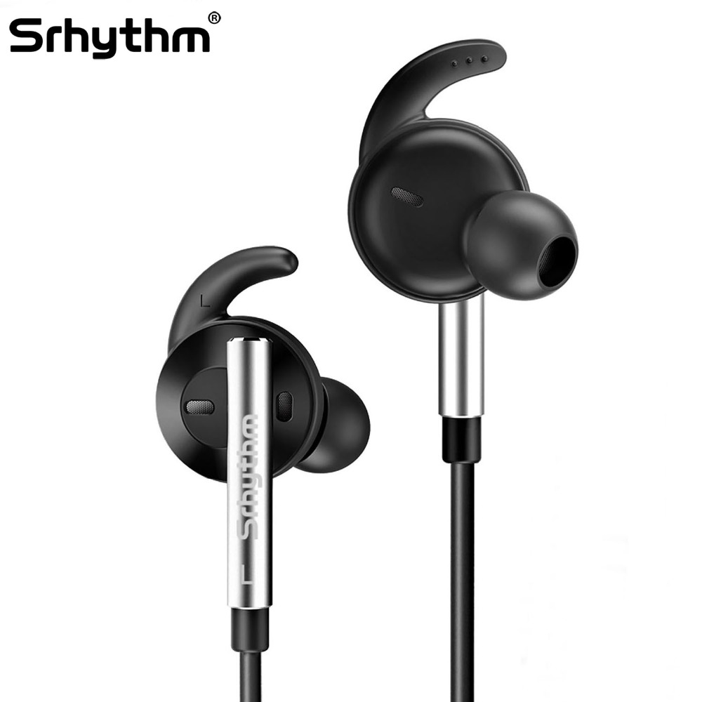 Active Noise reduction Bluetooth Wireless earphones In-Ear Sport Hifi ANC deep bass Stereo headset with Microphone Srhythm юбка finn flare finn flare mp002xg00bfb