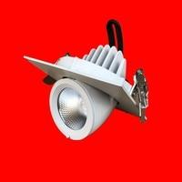 7 W 10 W 12 W 15 W 20 W 30 W LED COB downlight Niet Dimbare Verzonken LED Plafondlamp Spot led Gloeilamp licht Draaien 369 graden