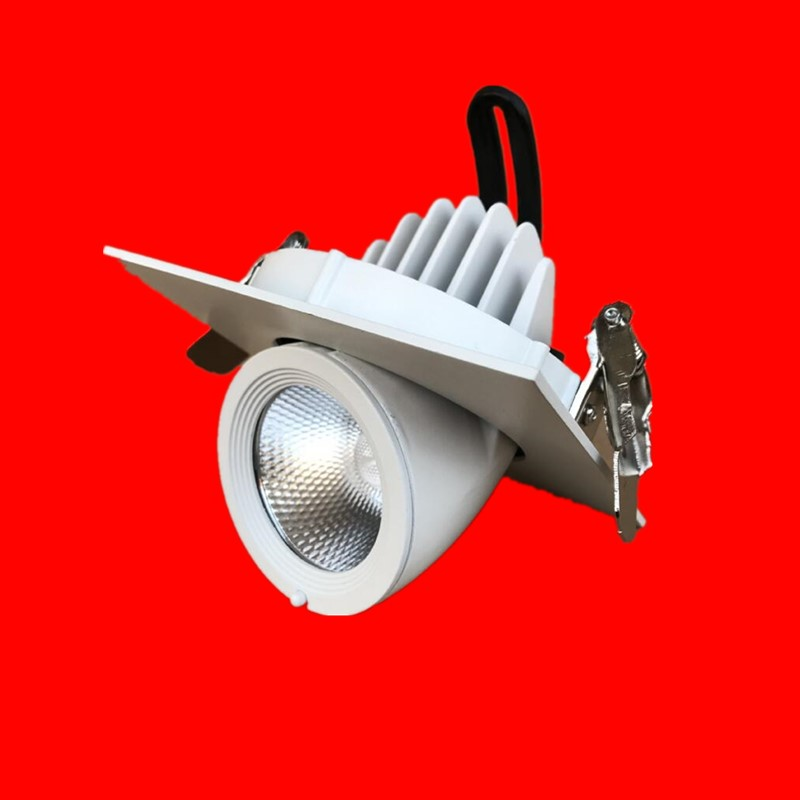 7W 10W 12W 15W 20W 30W LED COB downlight Non Dimmable Recessed LED Ceiling Lamp Spot Light led Bulb Lamp light Rotate 369 degree