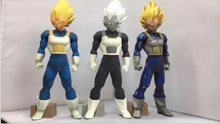 Huong Anime Figure 30CM Dragon Ball Z Vegeta 3 Colors Doll PVC Action Figure Collectible Model ToysHuong Anime Figure 30CM Dragon Ball Z Vegeta 3 Colors Doll PVC Action Figure Collectible Model Toys