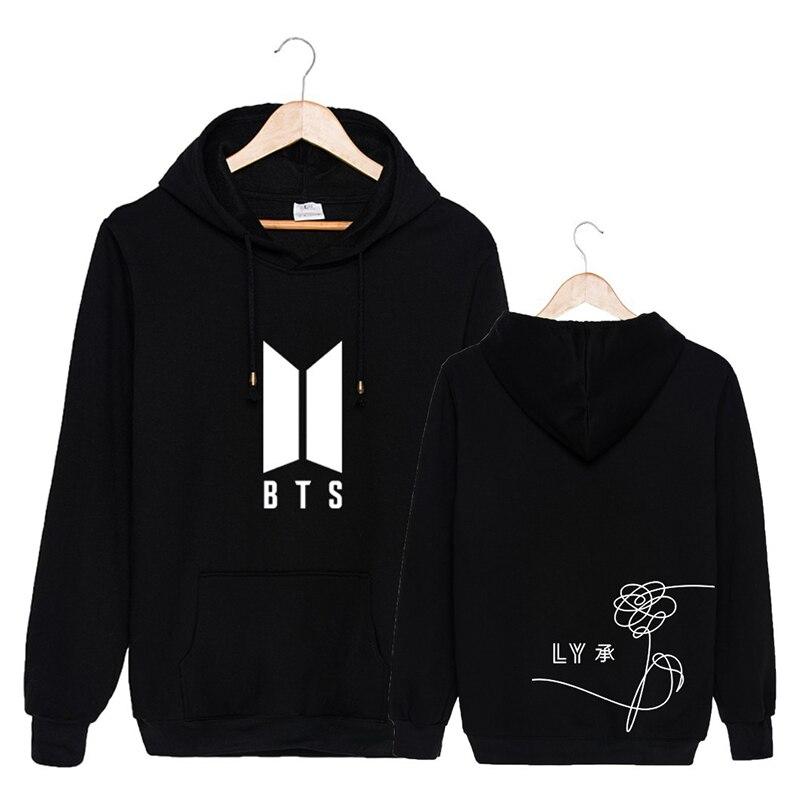 3a0a9c44ff KPOP Coréen Mode BTS Bangtan Garçons 5ème Album Amour Vous-Même Coton  Hoodies Chapeau Vêtements