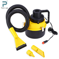 12V Portable Handheld Car Vacuum Cleaner Large Capacity Air Inflation Three Sucker Dust Cleaner Catcher Collector 3M Cable