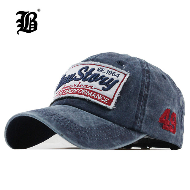 21b16e99796  FLB  fashion Baseball Cap Embroidery snapback hat for men women Cotton  Casual mesh caps