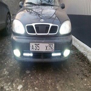 Image 5 - ANGRONG 2 pcs 453 H3 25 SMD LED סופר לבן קסנון פנס ערפל אור נורות מנורות 12 V