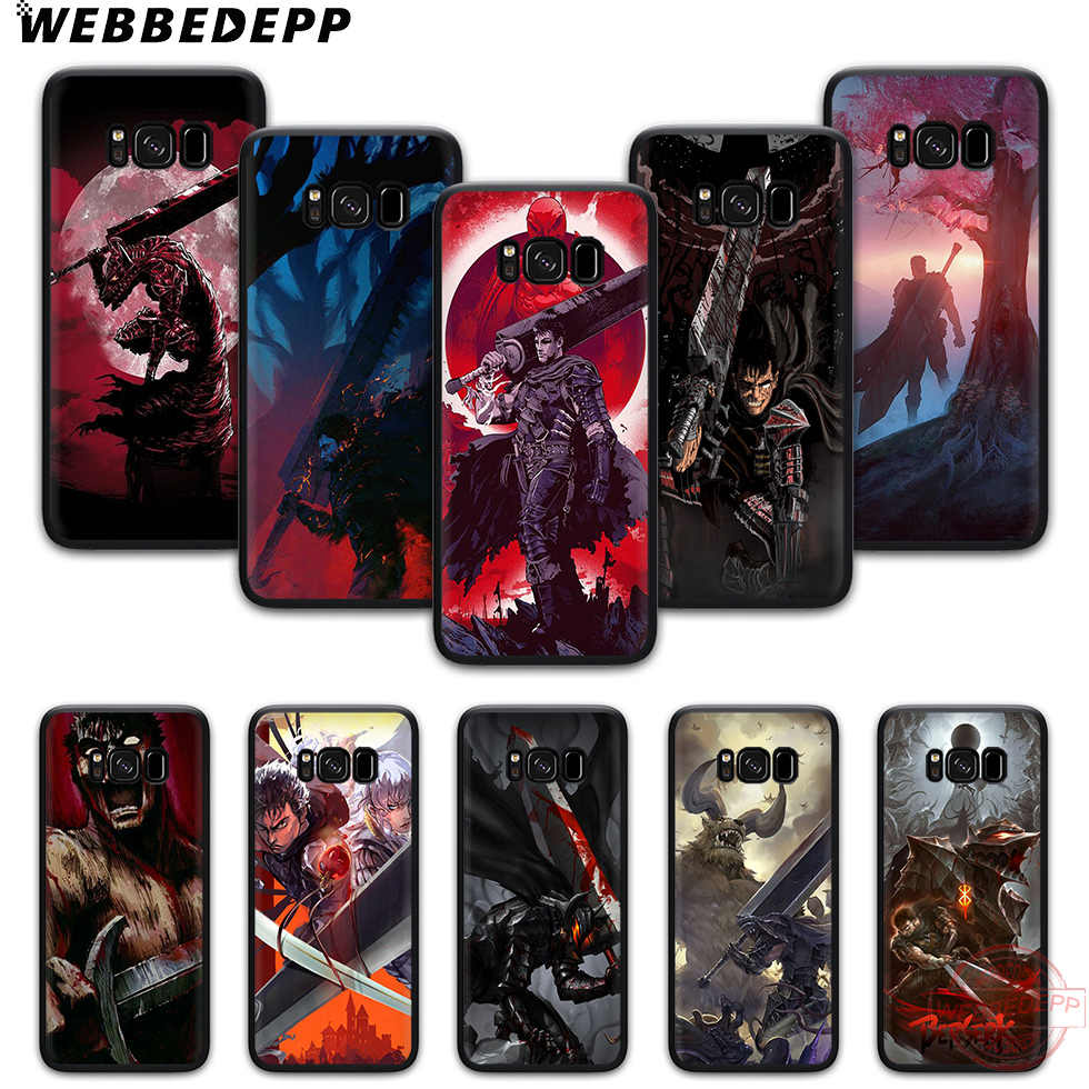 Webbedepp Keberanian Anime Soft Phone Case untuk Samsung S6 S7 Edge S8 S9 S10 Plus J4 J6 J7 J8 Note8 9 10