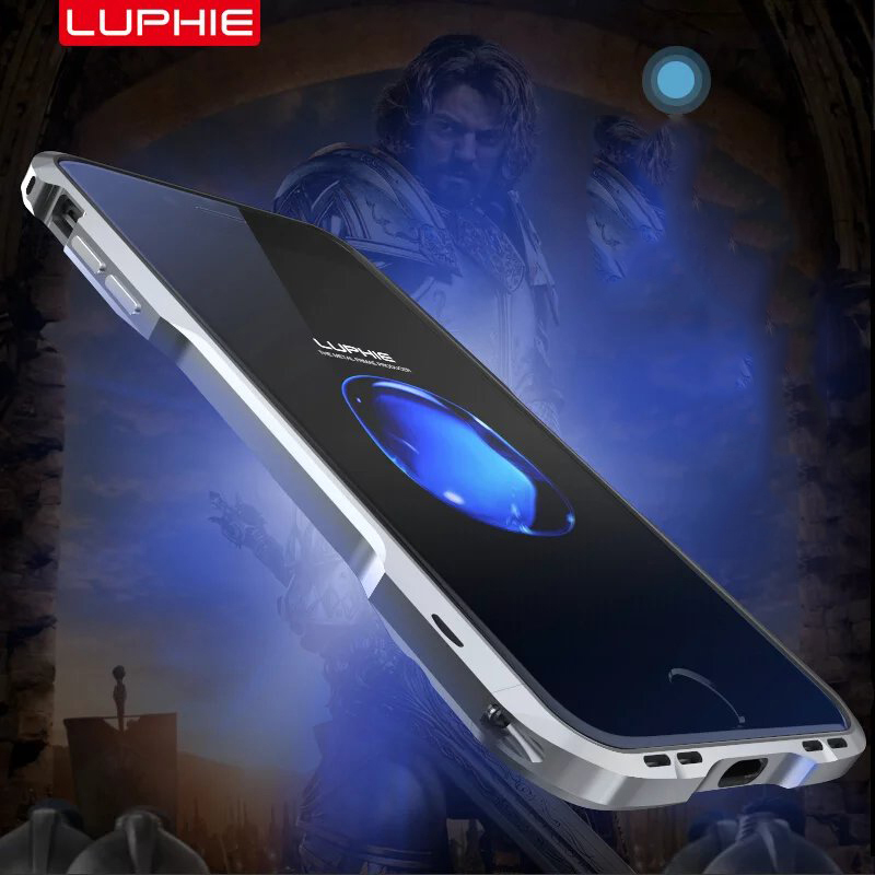 Original LUPHIE Slim Metal phone Case For iPhone 7 Fashion style for iPhone 7Plus Frame Mobile