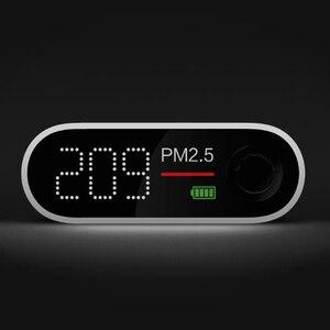 Image 4 - Youpin SmartMi PM2.5 אוויר גלאי אוויר באיכות בודק OLED מסך תצוגה אינטליגנטית גבוהה דיוק לייזר נייד חיישן