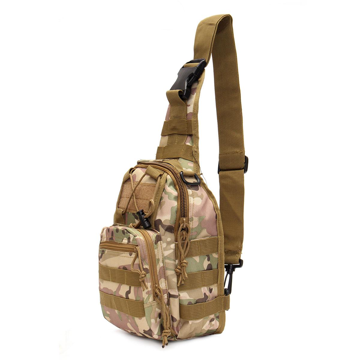 Prix pour Hommes Messenger Sacs Poitrine Pack Multifunctiona Épaule Tactique Sac Bandoulière Matériel de Camping En Plein Air sacs