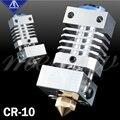 Mellow Upgrade CR10 Alle Metall Hotend Extruder Kit Flexible Titan Wärme Pause Für Creality CR-10 CR-10S Micro Schweizer 3D Drucker