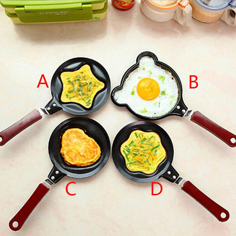 New Arrival Mini Cast Iron Egg Frying Pan Non Stick