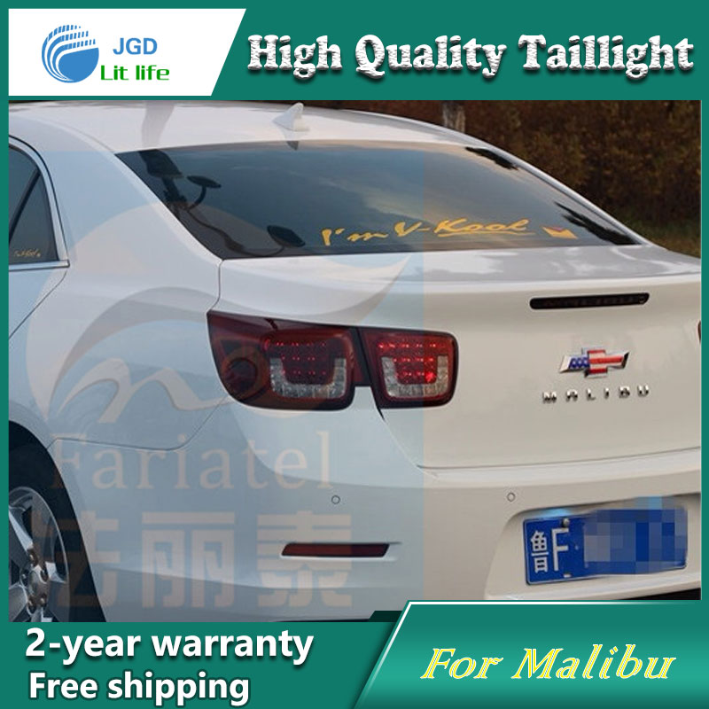 Car Styling Tail Lamp for Chevrolet Malibu Tail Lights LED Tail Light Rear Lamp LED DRL+Brake+Park+Signal Stop Lamp car styling tail lamp for toyota corolla led tail light 2014 2016 new altis led rear lamp led drl brake park signal stop lamp