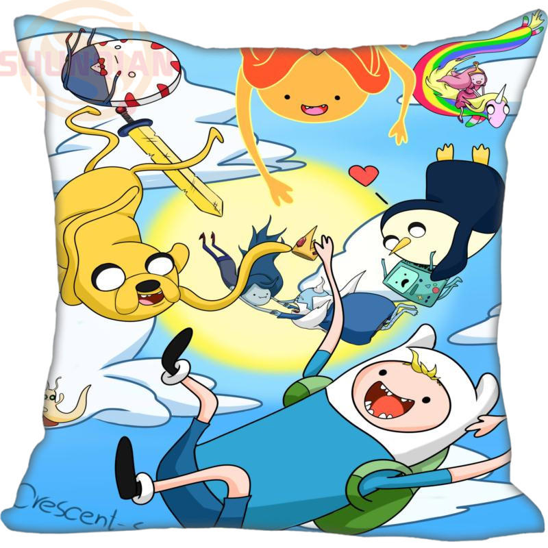 New Arrival Custom Pillow Case adventure time Anime Pillowcase zipper