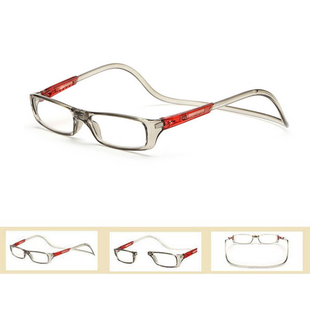 77c405bf45ff Diopter glasses Adjustable Front Connect Reader Magnetic Closure Reading  Glasses for men and women strength +1.0 to +4.0