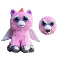 Original Feisty Pets Plush Stuffed Dog Cat Adorable Chance Face Animals Christmas Gift Dolls that Turns Feisty With a Squeeze