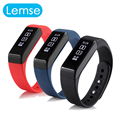 i5 plus smart band OLED Screen Call Message Reminder fitness Tracker Wristband For Android 4.3 above and ios 7 above phone
