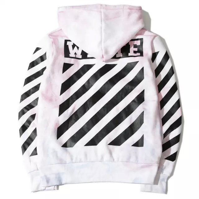 High quality 2015 S/S street brand OFF WHITE hoodies Religious Tie ...