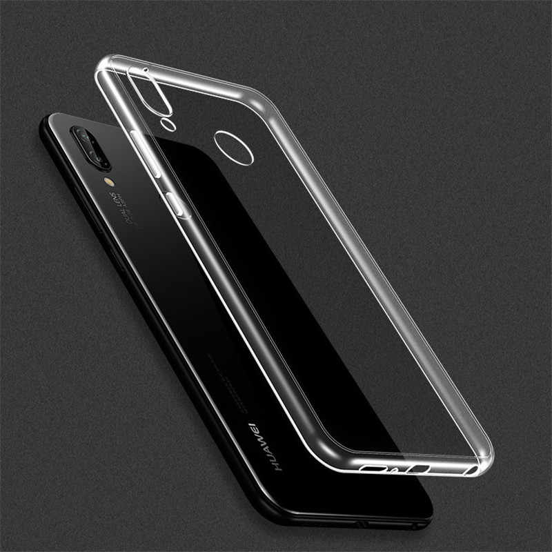 Transparent Clear Case For Huawei Mate 20 P20 Lite Pro Soft TPU Case On Honor 8X Max 7A Y5 Y6 Y9 2018 Silicone Cover Phone Case