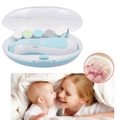 Delicate Electric Baby Nail Trimmer for both Manicure and Pedicure