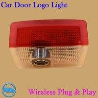 OCSION 2X LED Car Door Logo Laser Light For Brabus E Class ML Class GL Class
