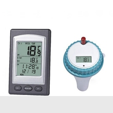 On sale Digital Wireless Swimming Pool SPA Floating Thermometer Wireless LCD Indoor Outdoor Pond Spa Hot Tub Temperature Transmitter