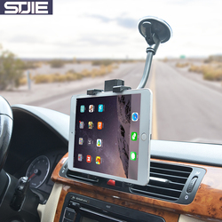 STJIE universal for iphone 7 holder car windshield support mobile cradle grip for smartphone cellphone 7 8 inch tablet pc stand