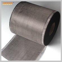 0,2 m de ancho de fibra de carbono 3K 200g/m2 hilo de carbono tejido de refuerzo de capa intermedia