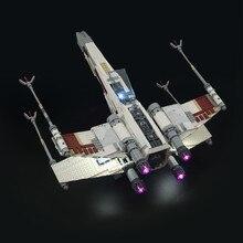 Światło Led dla 10240 X Wing Red Five fighter Compatible 05039 klocki (brak w zestawie)