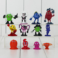 12pcs/set Pacman Pixels PVC Action Figures Toys Dolls Pac-Man Animal Figurines Collectible Models For Kids 2-5.5cm