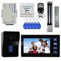 DIYSECUR Remote Control 7 Inch Monitor Touch Video Door Phone Intercom Doorbell Home Security IR Camera Magnetic Lock