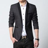 2016 Men Suit Jackets Blazers Dress Suits Men S Casual Fashion Slim Fit Single Button Style