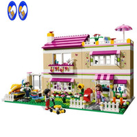 2016 New Friends Series The Olivias House Model Building Block Classic Girl Toys Mini Figures Compatible