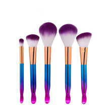 5 PCS New Arrive Makeup Brush With Ear Scoop End Beauty Hyun Shank Brushes Kit Cosmetic Tools