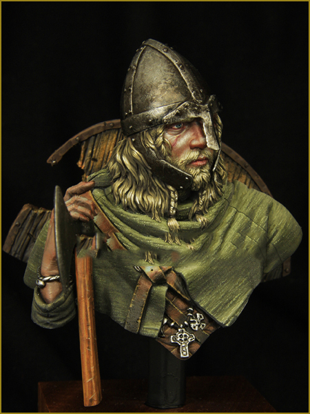 Scale Models  1/10 VIKING Warrior C.950 bust    figure Historical WWII Resin Model Free Shipping