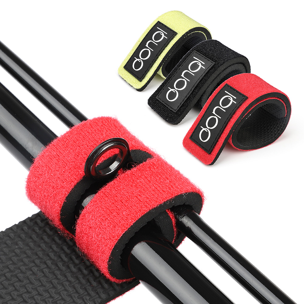 DONQL Fishing Rod Tie Strap Reusable Elastic Bandage High Quality Adhesive Wrap Belt Magic Fishing Tool Fastener Loop Cord Ties