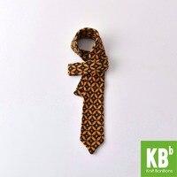 2018 Весна KBB шерсть желтый мода 6.5 см вязать галстук для Для мужчин стильный галстук мода для костюм бизнес Свадебные Повседневная вечерние