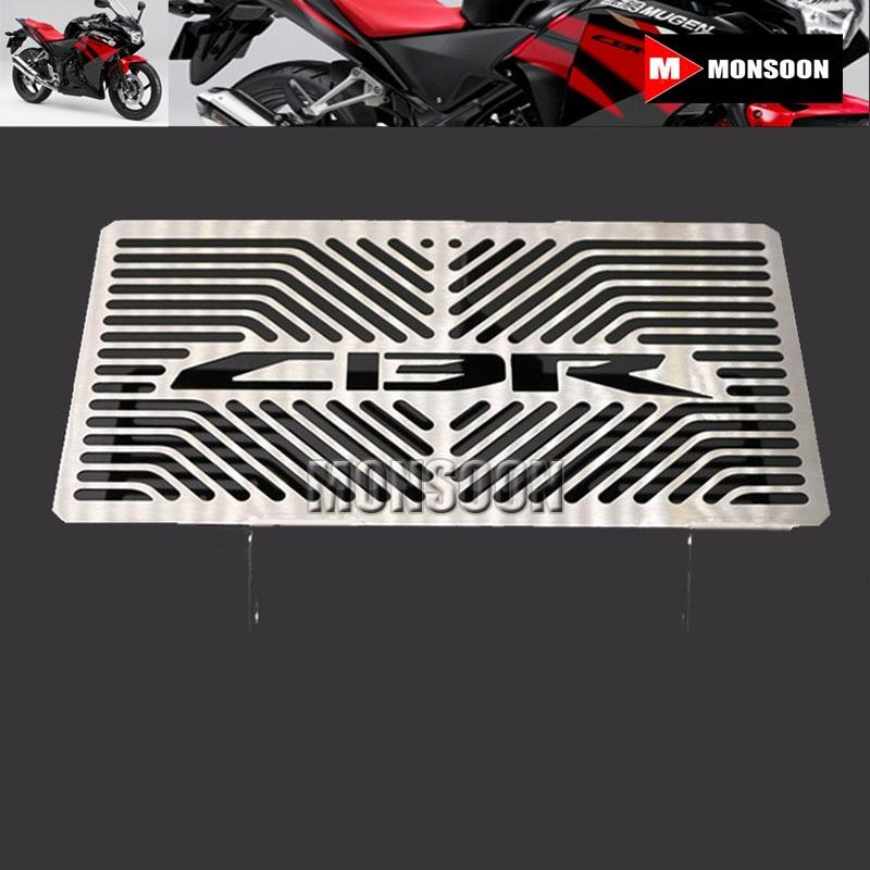 For Honda CBR 250R CBR250R 2010-2012 Motorcycle Radiator Grille Guard Cover Protector arashi motorcycle radiator grille protective cover grill guard protector for 2008 2009 2010 2011 honda cbr1000rr cbr 1000 rr