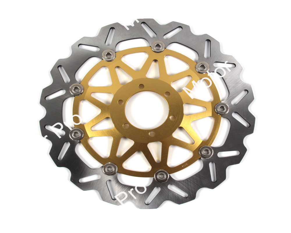1 PCS CNC Motorcycle Front Brake Disc FOR DUCATI MONSTER 620 2005 2006 MULTISTRADA aluminum alloy brake disk Rotor mfs motor motorcycle part front rear brake discs rotor for yamaha yzf r6 2003 2004 2005 yzfr6 03 04 05 gold