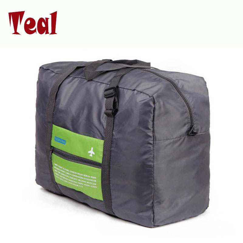 2017 Free Shipping waterproof Fashion Travel Bags women Nylon Large Capacity Bag Folding Bag casual Luggage Travel Handbags