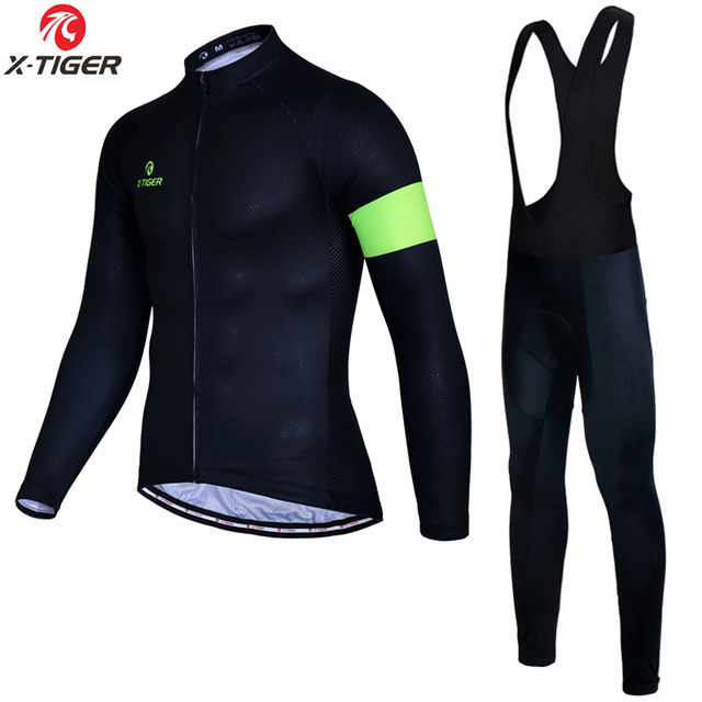 X-Tiger Autumn Long Sleeve Cycling Clothing Set Breathable Bicycle Wear Anti -sweat MTB Bike Cycling Jersey Ropa Maillot Ciclismo 1ff83872c
