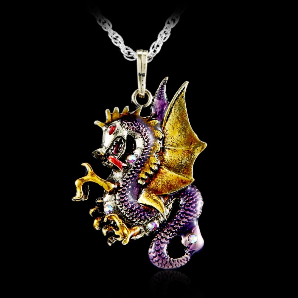 Gorgeous antique retro gold jewelry dragon pendants long necklaces gorgeous antique retro gold jewelry dragon pendants long necklaces sweater necklaces 2017 fashion necklace for women bijoux in pendant necklaces from aloadofball Image collections