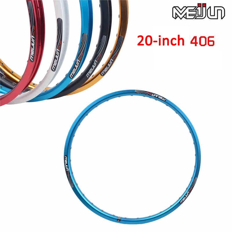 5 krāsu MTB kalnu velosipēdi Ceļu nolokāmi velosipēdi 20 '' collu 406 32 caurumu disku bremžu uzlikas daļas divkāršu disku 32 bedrīšu riteņu riteņi
