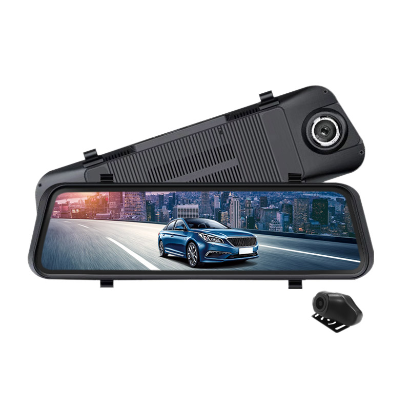 Streaming Media Car Dvr Press Screen 1080P Hd Night-Vision Rearview Mirror Driving Recorder Large New Style Dash CameraStreaming Media Car Dvr Press Screen 1080P Hd Night-Vision Rearview Mirror Driving Recorder Large New Style Dash Camera