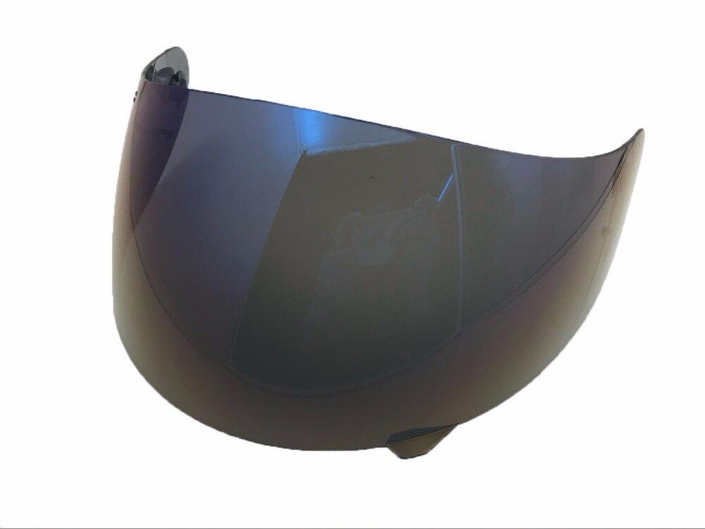 1 Pcs Iridium/fumée lumière Plein Visage objectif casque de moto visière Bouclier pour cas pour K3 K4 masque (pas pour K3 SV) dans Casques de Automobiles et Motos