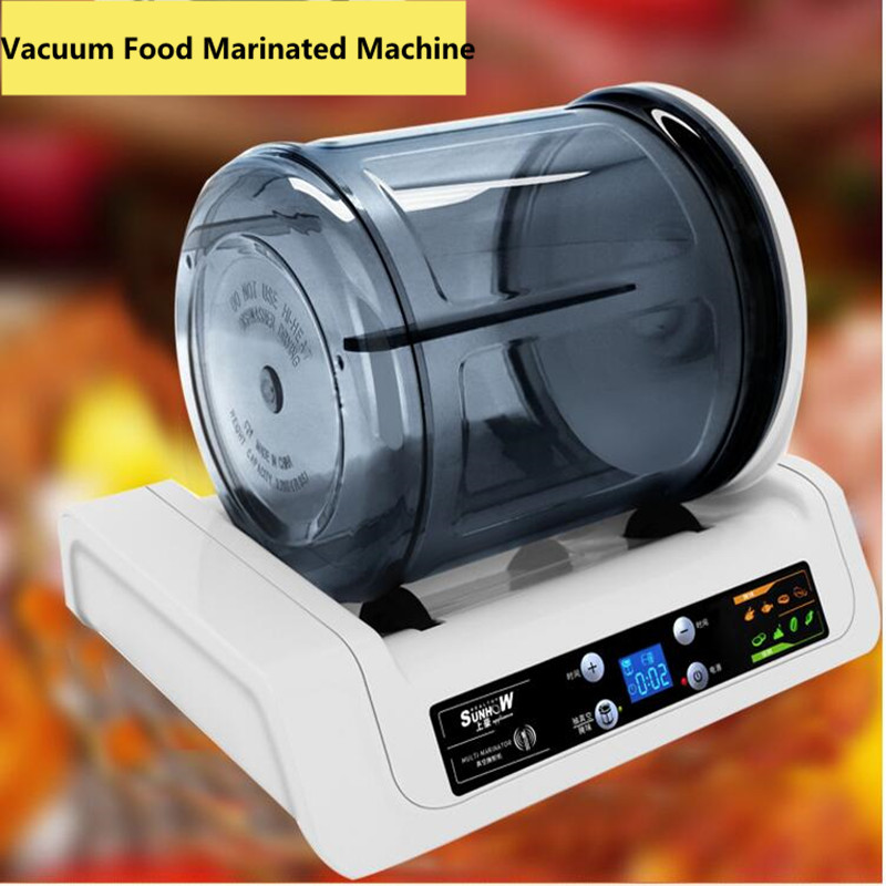 7L Electric Vacuum Food Pickling Machine Household 2018 Vacuum Food Marinated Machine Commercial Meat/Fried Chicken Marinator 7l electric vacuum food pickling machine household 2018 vacuum food marinated machine commercial meat fried chicken marinator