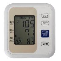Gustala 2017 Mới Chăm Sóc Sức Khỏe Tự Động Trên Cánh Tay Digital Blood Pressure Monitor Tonometer Mét LCD Hiển Thị Để Đo Xung
