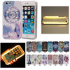 2016 Fashion Cartoon Phone LED Lighting Selfie Case For IPhone 5 5s 5se 6 6S 6