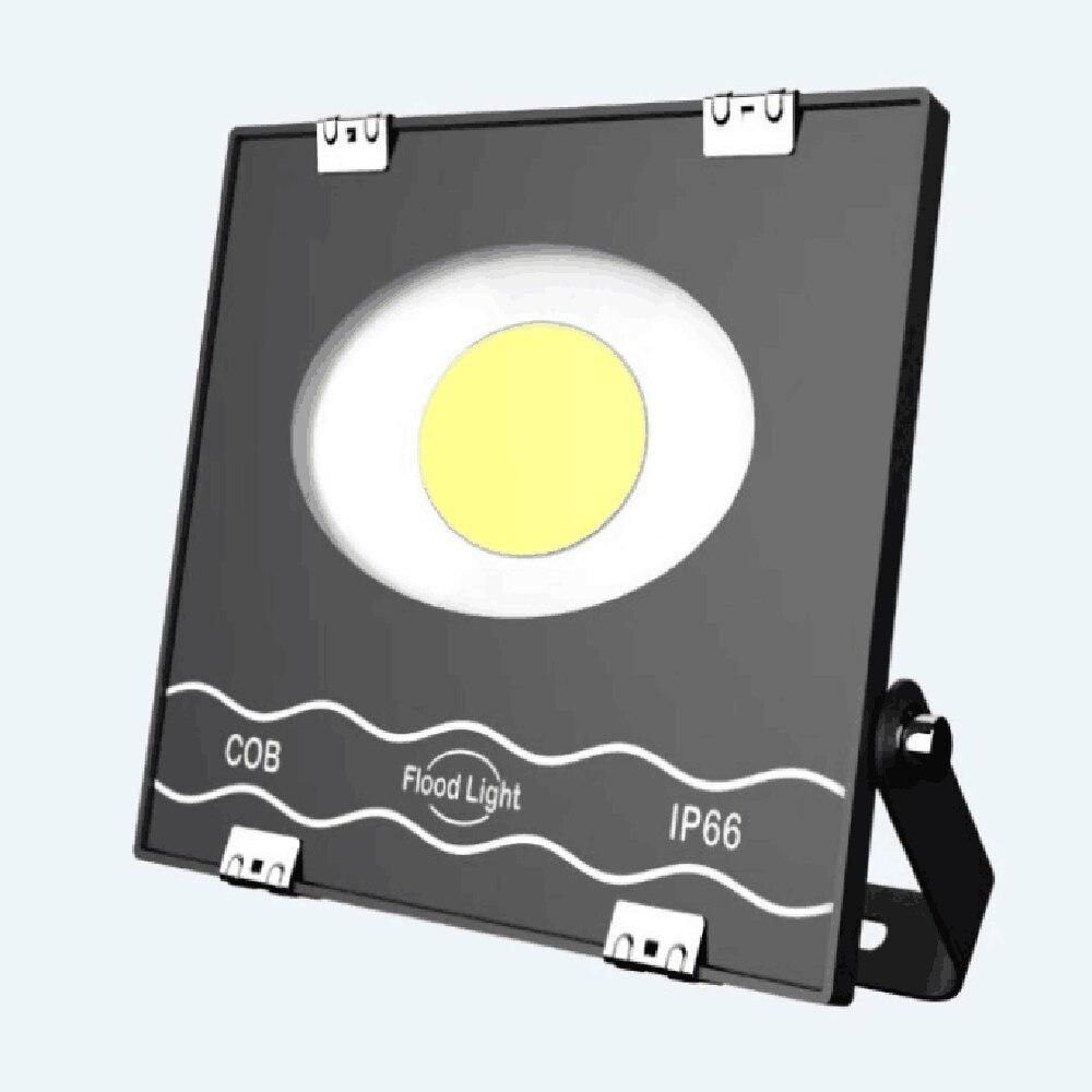 New LED Flood Light Outdoor Lighting Projector Reflector Wall waterproof Garden Square LED Spotlight 50W 100W 200W Floodlight