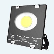Nouveau LED projecteur déclairage extérieur projecteur réflecteur mur étanche jardin carré LED projecteur 50 W 100 W 200 W projecteur