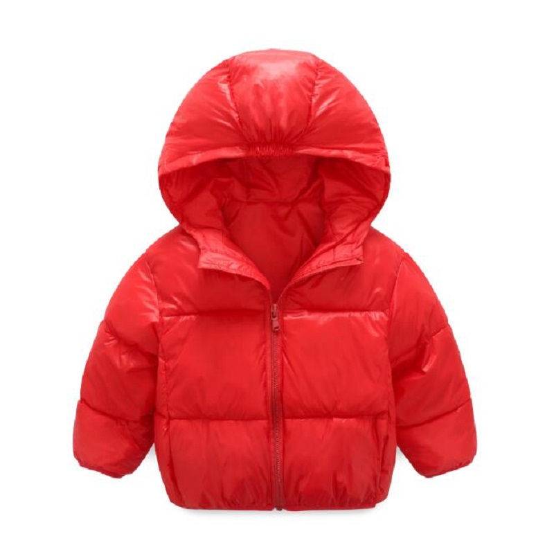 Baby Boys Girls Jacket Winter Jacket For Girls Bomber Jacket Kids Warm Infant Boy Coat Hooded Children Outerwear Coat Clothes children winter coats jacket baby boys warm outerwear thickening outdoors kids snow proof coat parkas cotton padded clothes